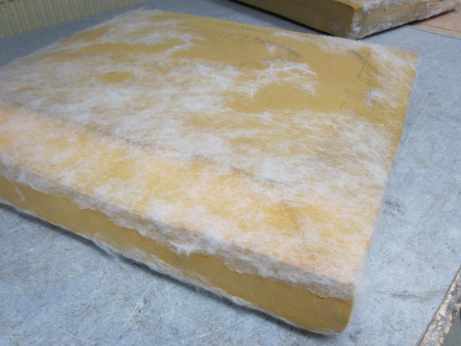 Bestaande zit-matrassen waren nog goed bruikbaar en zijn schoon gemaakt